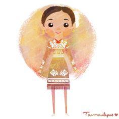 México colores y diseños de sus trajes típicos Tamaulipas
