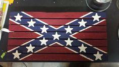 Tobacco stick flag
