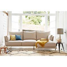 Eleanor Modern Corner Sofa Right Hand Facing