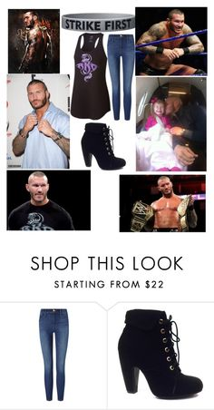 """Managing Randy Orton"" by lauren311-1 ❤ liked on Polyvore featuring CENA, Champion, Frame Denim and Bamboo"