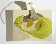 H & H by Eva Hesse, 1965 | Varnish, ink, gouache, enamel, cord, metal, wood, papier-câché, unknown modeling compound, particle board, wood #sculpture