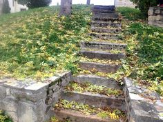 Egliseneuve-pres-billom Auvergne France- escalier