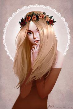 ArtStation - Miss Autumn, Renee Chio