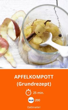 Apfelkompott - (Grundrezept) - smarter - Kalorien: 200 Kcal - Zeit: 25 Min. | eatsmarter.de
