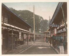 Shimonosuwa fire bell at Nakasendo. Circa. 1880-1890