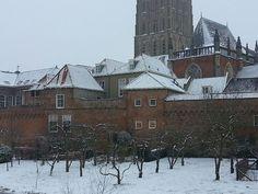 Stadsmuur vanaf Martinetsingel Zutphen