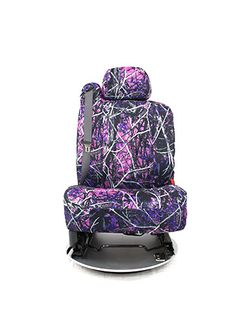 Muddy Girl Seat Covers - Front View http://projectmuddygirl.nwseatcovers.com/  #ProjectMuddyGirl