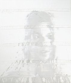 Andy Denzler, White Portrait 2 (2012)
