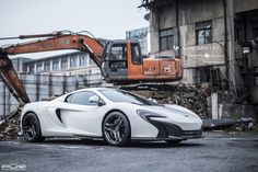 McLaren 650S with PUR Wheels