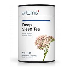 The certified organic Artemis Deep Sleep Tea is an effective natural remedy to help you sleep. Organic Loose Leaf Tea, Sleep Tea, How To Get Sleep, Medicinal Plants, Good Night Sleep, Deep, Artemis, Medicine, Plastic