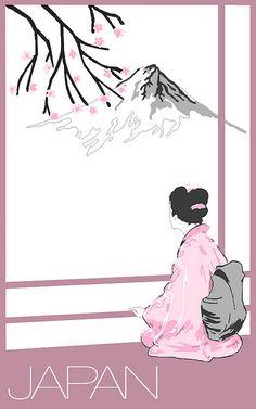 visit Japan poster