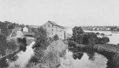 Mill at the junction of the Old Welland Canal and Twelve Mile Creek (image/jpeg)