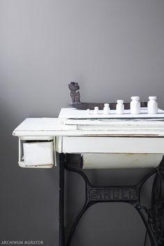 Jak zrobić podstawę umywalki ze starej maszyny do szycia