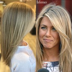 Medium Hair Styles, Short Hair Styles, Jennifer Aniston Hair, Hollywood Hair, Long Hair With Bangs, Blonde Highlights, Great Hair, Hair Dos, Fall Hair