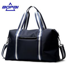 Cheap bags cleaning, Buy Quality bag hot directly from China bag manufacture Suppliers: BOPAI Brand New Arrival Luggage Bags Blue Travel Bags for Men Two Using Methods Travel Tote Bag for Women Unisex Duffel Bag Big Travel Handbags, Handbags For Men, Mens Travel Bag, Travel Bags, Duffle, Bag Women, Nylon Tote, Luggage Bags, Luggage Shop