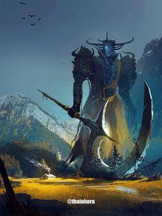 Fantasy Concept Art, Fantasy Character Design, Dark Fantasy Art, Fantasy Artwork, Fantasy World, Character Art, Monster Concept Art, Fantasy Monster, Monster Art