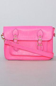 *Accessories Boutique The Neon Crossbody Bag in Pink : Karmaloop.com - Global Concrete Culture