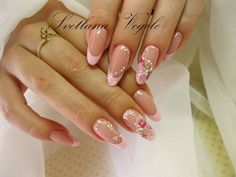 Important Things You Should Know About Acrylic Nails – NaiLovely French Tip Nail Designs, Ombre Nail Designs, Diy Nail Designs, French Nails, Bridal Nail Art, Magic Nails, Luxury Nails, Formal Nails, Dream Nails