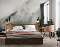 Apartment for Julia on Behance Interior Architecture, Interior Design, Ukraine, 3ds Max, Adobe Photoshop, Bed, Behance, House, Furniture
