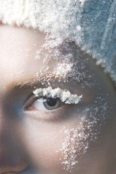 Sophie Delaporte  - Vogue Italia Ice | Michele Filomeno