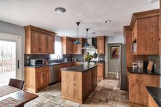 Idea, methods, together with manual when it comes to receiving the very best outcome as well as ensuring the optimum utilization of Remodel Manufactured Home Kitchen Black Counter, Wood Kitchen Cabinets, Kitchen Flooring, Soapstone Kitchen, Kitchen Countertops, Birch Cabinets, Hickory Kitchen, New Kitchen, Kitchen Decor