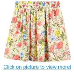 Am Clothes Womens Girls Sweet Floral High Waist Mini Skirt 7 Business Outfits Women, Business Clothes, Chiffon Skirt, Print Chiffon, Flower Skirt, Girl Falling, Shopping Hacks, Trendy Fashion, Floral Prints