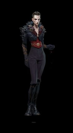 Потрясные концепт-арты персонажей Dishonored 2 - Shazoo