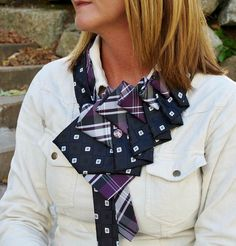 Everyone is talking about the new scarf! Ruffle Ties are the must have fashion accessory for every woman. From casual to a night out on the town. Etsy Store - TiedToPerfectionNH.com Wholesale - www.tiedtoperfectionnh.com