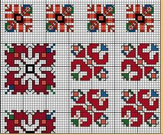 This Pin was discovered by Нат Embroidery Motifs, Cross Stitch Embroidery, Cross Stitch Patterns, Embroidery Designs, Tatting Patterns Free, Seed Bead Patterns, Tiny Cross Stitch, Embroidered Towels, Palestinian Embroidery