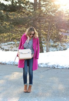 Lilly Style: stripes + pink