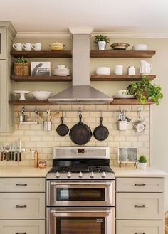 Nice 40 Best Farmhouse Kitchen Remodel Ideas https://crowdecor.com/40-best-farmhouse-kitchen-remodel-ideas/ #kitchenrenovationmodern