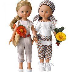 Coudre des tenues de poupées printannières