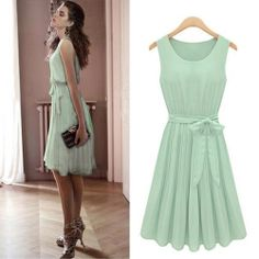 Mint Green Dress @Krysta Guille Guille Guille Lindsay lea