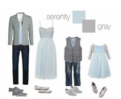 Neutral blues and greys work perfect for a nature setting