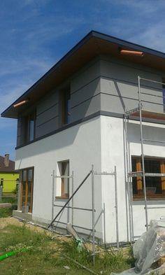 Duży piętrowy dom prawie pasywny, nowoczesna architektura, metodą gospodarczą zleceń - Dzienniki budowy - dzień po dniu - forum.muratordom.pl