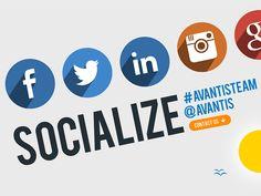 Follow AVANTIS :) Social Networks Big Time! by INKOD HYPERA Ltd.