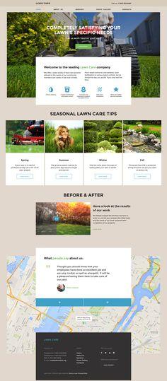 Lawn Maintenance Website Template http://www.templatemonster.com/website-templates/lawn-care-website-template-57855.html