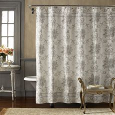 Vintage Chic™ Brompton 72'' x 72'' Fabric Shower Curtain