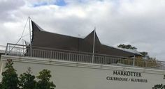 RHI designs modular roof top tents for Paul Roos Gymnasium in Stellenbosch, South Africa.