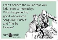 The music kids listen to these days...