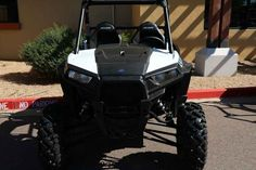 New 2017 Polaris RZR S 900 White Lightning ATVs For Sale in Arizona. 2017 Polaris RZR S 900 White Lightning, 2017 Polaris® RZR® S 900 White Lightning <p>Ample power, 60 trail capability, and legendary RZR® S ride and handling.</p><p> Features may include: </p> POWER FEATURES <ul><li>75HP PROSTAR® 900 ENGINE</li></ul><p>The 75 HP ProStar® 900 Engine is specifically tuned to provide maximum power without compromising drivability for RAZOR SHARP PERFORMANCE® with hallmark ProStar®…