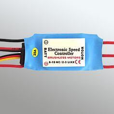 esc-dye-1002 Brushless ESC-25a