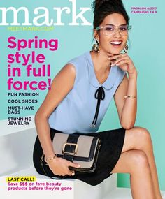 MEET MARK.- Spring 2017 Fashion by Avon. Always on trend. See how to look like a million for under $100! eBrochure   AVON youravon.com/AnneCoddington Thank you so much! #MustHaveBags