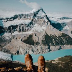 Hanging out above the Columbia Icefields.