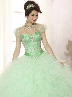Luxurious Sweetheart Beading Quinceanera Dress