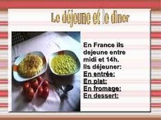 Imagini pentru les repas en france Le Diner, Sprouts, France, Vegetables, Food, Meal, Essen, Vegetable Recipes, Meals