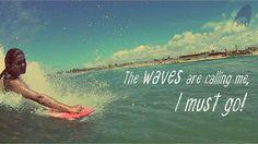 The waves are calling me, I must go! #handsurf #bodysurf #nellihand #handplane #handboard #surf