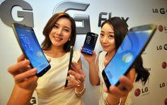 LG curved-screen Smartphone will Make public in 2014