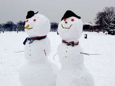 Cute Snowman Ideas | Time for the Holidays