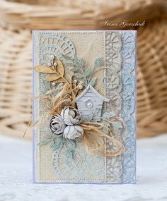 Shabby card for Cheery Lynn Designs